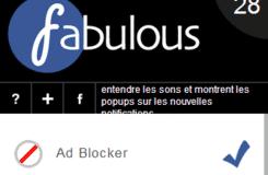 برنامج Fabulous لمتصفح جوجل كروم للتحكم في الفيس بوك