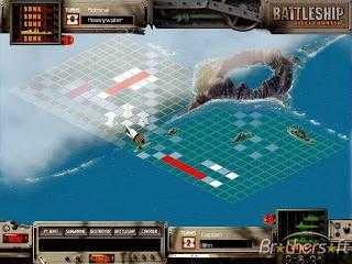 صورة من داخل لعبة Battleship