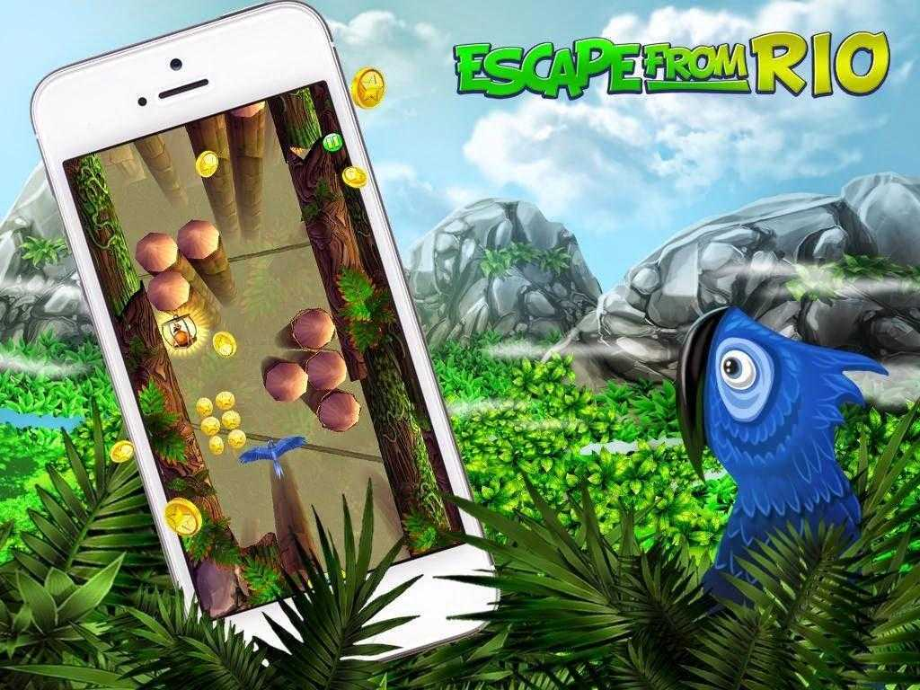 الهروب من ريو لتليفونات اندرويد Escape From Rio - Blue Birds
