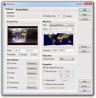 تحميل خلفيات الكرة الارضية للكمبيوتر Earthview