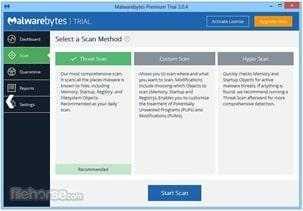 برنامج أنتى مالوير بايتس مكافح التجسس والبرامج الضارة Malwarebytes 3.1.24