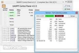 برنامج XAMPP 7.1.7 لتطوير واختبار المواقع والوردبريس على الحاسوب للويندوز