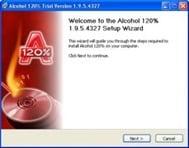 برنامج Alcohol 120% 2.0.1.2031 لحرق ونسخ الإسطوانات والديفيدى