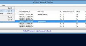 برنامج مراقبة شبكات الواى فاى والكشف عن المتصلين Wireless Network Watcher 2.15
