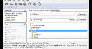 تحميل برنامج Xinorbis لتحليل القرص الصلب