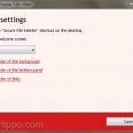 تحميل برنامج Secure File Deleter لمسح الملفات