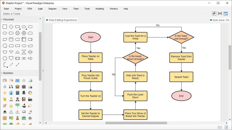 تحميل برنامج flowchart