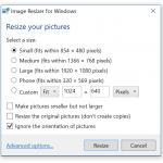 تحميل برنامج Picture Resizer لتحرير الصور